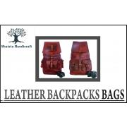 Leather Backpacks Bags