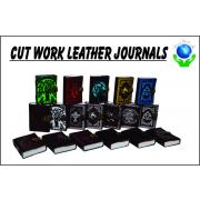 Cut Work Leather Journals