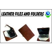 Leather Files and Folders