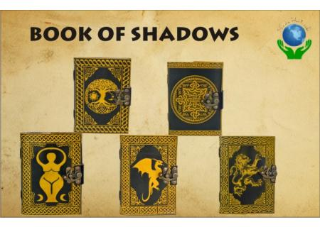 Leather Book Of Shadow