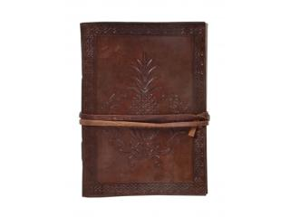 New Genuine Leather Journal Celtic Pineapple Design Journal Notebook Handmade Diary