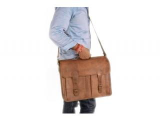 Real Goat Laptop Briefcase