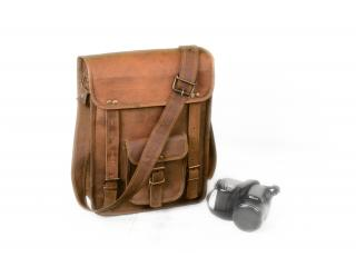 Leather Messenger Bag for Office