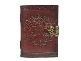 Vintage Leather embossed Look Genuine Bound  Journal Diary