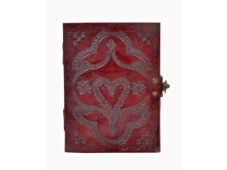 Handmade New Embossed Journal Antique Love Heart Design Journal & Notebook