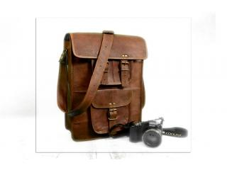 Men's Real Goat Leather Bag