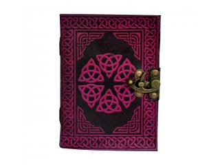 Book Of Shadow Leather Celtic Book of Shadows Brown Blank Spell Book Wicca Note Book Journal Real Book