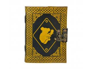 Handmade Book Of Shadow Celtic Leather Journal Travel Book Wholesaler India