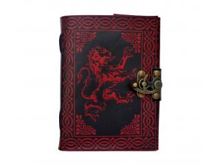 Celtic Lion Book Of Shadow Leather Journal Note Book Blank Book Dairy Shadow Journal