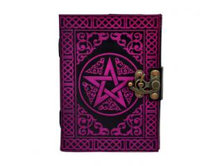 Celtic shadow pentagram Leather Journal Blank Diary Notebook 100% Eco friendly Wholesaler India