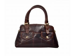 Women Buffalo Hide Leather Tote Handbags Vintage Shoulder Bag Capacity Shopping Cross body Bag