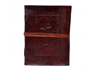 Omm Handmade Paper Leather Journal Blank Diary Writing Notebook Sketchbook