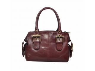 Genuine Leather Travel Weekender Overnight Tote Women Bag