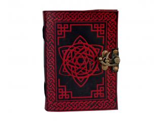 Handmade Book Of Shadow Dairy Note Book Leather Journal Pentagram Star Design Beautiful Embossed Journal