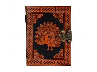 Peacock Handmade Leather Journal Blank Book Celtic Leather Journal Dairy Organizer Planner Book