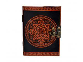 Handmade Leather Journal Note Book Blank Book Of Shadow Celtic Knot Dairy