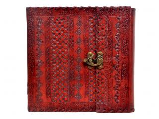 Handmade New Design Embossed Leather Journal Diary Perfect Selection Of Fashion Leather  Store