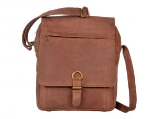 Crazy Horse Leather Top Quality Men's Messenger Tote Bag Shoulder Bag