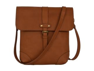 Brown Woman Buffalo Leather Bag