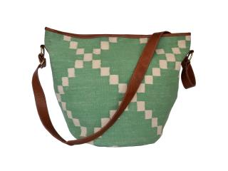 buffalo Leather Handmade Vintage Carpet Kilim Bag ladies handbag tote for girls KIlim bag
