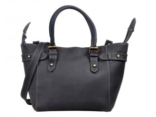 Genuine Buffalo Leather Women Handbag Shoulder Bag Vintage Tote Satchel Purse