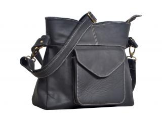 Women Buffalo Leather Shoulder Bag Tote Purse Handbag Messenger Crossbody Satchel Bag