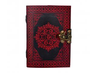 Handmade Shadow Celtic Book Leather Blank Book 120 Pages Note Book Journal Travel Dairy