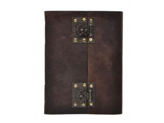 Leather Journal Wholesaler New Buffalo Leather Stylish Brass Lock Journal Notebook