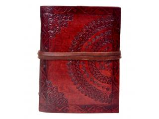 Handmade new embossed leather journal diary & notebook