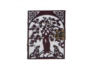 Fashion Leather Store Present New Wolf Under The Tree Leather Journal Notebook