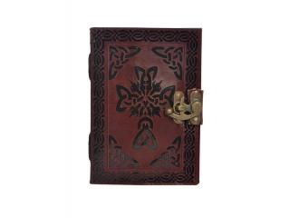 New Vintage Leather Journal Wholesaler Beautiful Cross Design Notebook