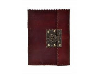 Vintage Handmade Leather Journal Writing Notebook Antique Brass Handmade Cheap Journal Notebooks For Gifts
