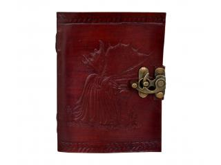 Embossed Leather Journal Fairy Brown Note Book Sketch Book Wholesaler India