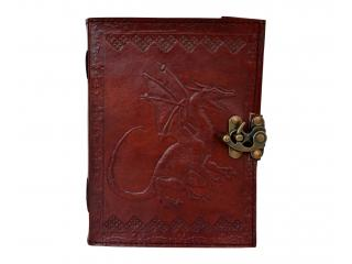 Dragon Leather Journal With Cord Personal Leather Diary Notepad Writing