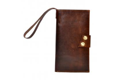 Credit Card/Id Wallets For Women & Men New Simple Hunter Leather Purse