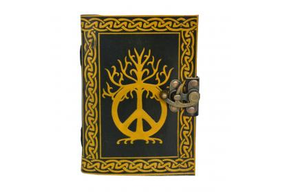 Celtic shadow peace of Sign Leather Journal Blank Diary Notebook 100% Eco friendly Wholesaler India