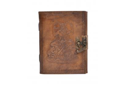 New Genuine Handmade Vintage Leather Journal 120 Pages Blank Paper Notebook