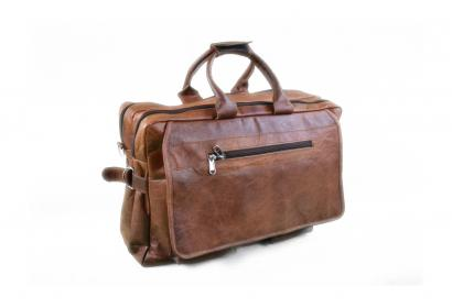 Handmade Goat Leather Messenger Bag For office And Univercity Unisex Bag.