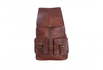 Leather Laptop Backpack Bag for Men