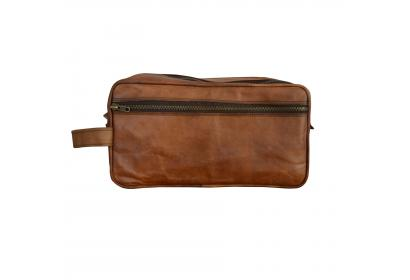 Goat leather Kit Accessories Bag