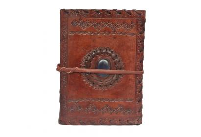 Antique Brown Real Leather Journal Handmade Diary Notebook