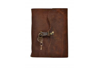 Vintage Leather Journal Wholesaler Antique Design New Handmade Brass Journal Notebook