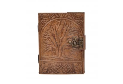 New Vintage Leather Journal Wholesaler Embossed Tree Of Life Journal