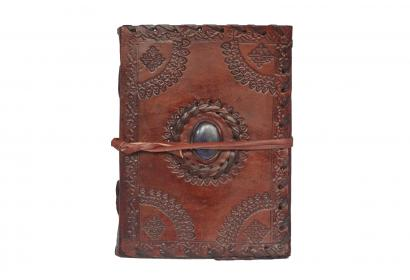Handmade vintage leather journal antique diary & sketchbook blank diary