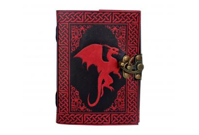 Celtic Dragon Book New Design Book Of Shadow Leather Journal Note Book Blank Book