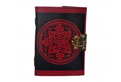 Book Of Shadow Celtic Knot Leather Bound 120 Page Blank Sketch Dairy Journal