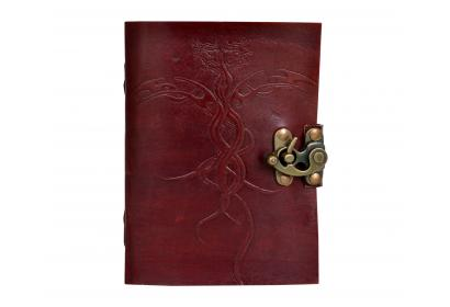 Embossed Leather Journal Note Book Blank Dairy Note Book Handmade Joournal