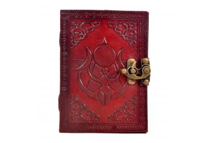 Handmade Genuine Vintage Goddess Mother Leather Journal Diary