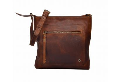 Buffalo Leather New Genuine Design Handmade Hide Leather Shoulder Women Bag