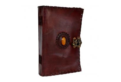 Medieval Stone Leather Journal Diary Collectible Templar 120 Pages Soft Paper
